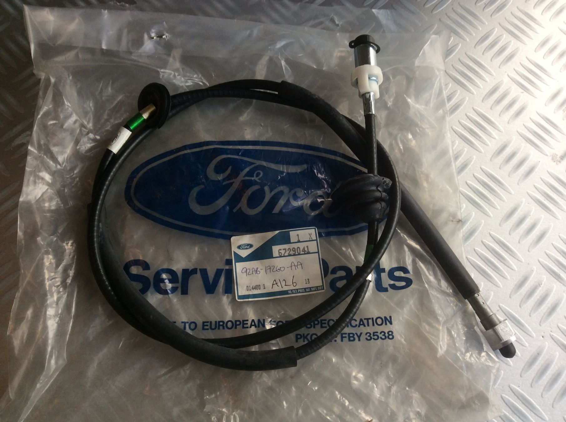 Whom speedometer cable ford escort
